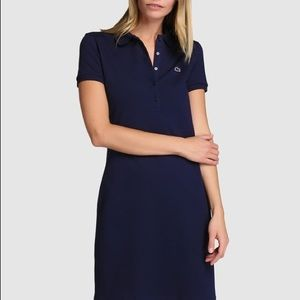NWOT Lacoste Navy Polo Dress